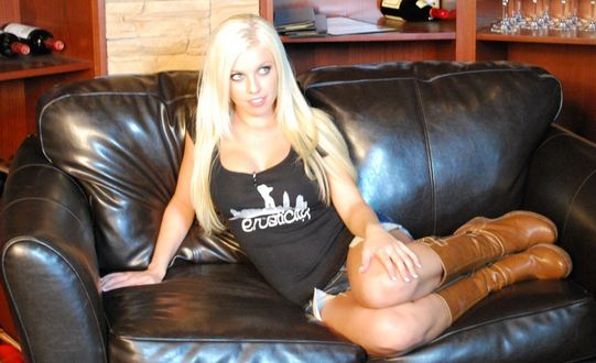 Promo shot of Brittany Amber from the evening